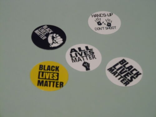 Pre Cut One Inch Bottle Cap Black Lives Matter Free Shipping