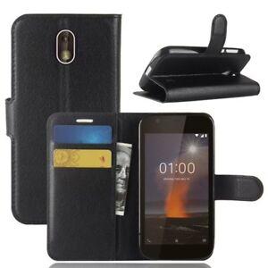 timeless design 483e6 23f2e Details about PU Leather Wallet Case Cover For Nokia 1 TA-1047 TA-1060  TA-1056 TA-1079 TA1066
