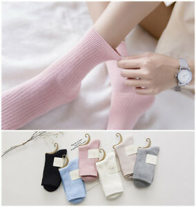 6-Pairs-Womens-100-Cotton-Soft-Cute-Candy-Color-Ankle-Dress-Casual-Warm-Socks