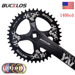 104BCD MTB Bike Chainring Narrow Wide Single Chain Ring 30-42T Fit Shimano Crank