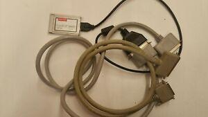 Adaptec-SlimSCSI-PCMCIA-Fast-SCSI-Adapter-Card-1460D-Cables