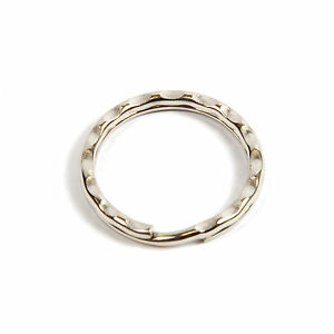 1000-RIPPLE-SPLIT-RINGS-25mm-CRAFTS-KEYRING-RS25RN-25