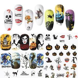 48-sheets-nail-art-water-decals-skull-halloween-manicure-stickers-transfer-S7J3