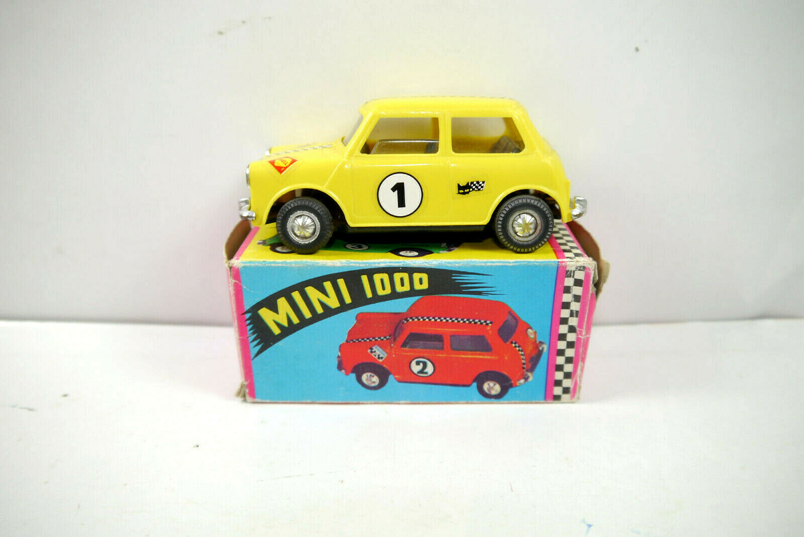 Gozan Juguetes - Mini Cooper Cooper Cooper 1000 yellow Shell Modellino Auto Ca.10, 5cm (K70)   094eee