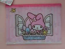 KAWAII My Melody Flat Pouch Cosmetic Bag Case Sanrio Japan