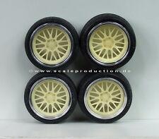 """Scale Production 1/24 BBS LeMans 19"""" Wheels Set"""