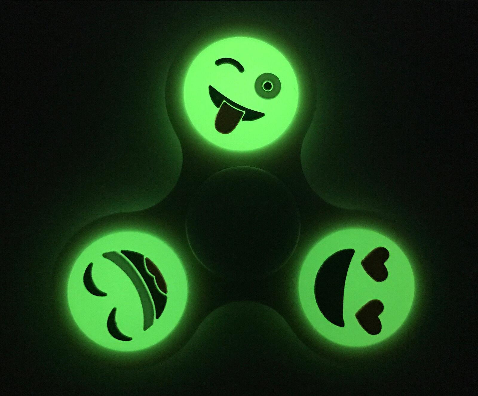 Frozen 3 Pack Disney Movie Fidget Spinner Toy 3 Way Emoji