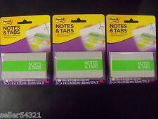 Post It Notes Amp Tabs Orangeneon Green 36 Tabs 2 X 15 75 Notes 2 X 2 3 Pk