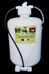 Best Expandable Garden Hose 2020 2020 HB EZ FLO Fertilizer Canister Injector 2 Gallon Garden Hose