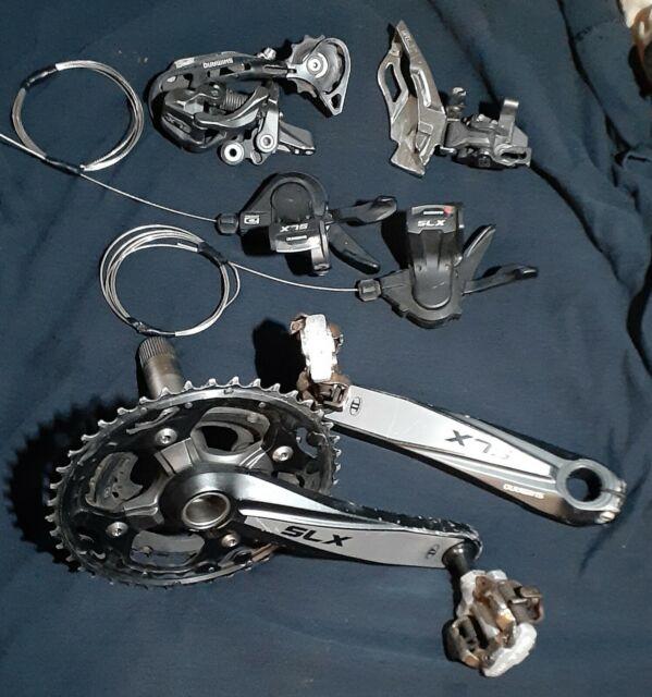 Shimano SLX 10 speed Groupset 3x10 mtb mountain bike