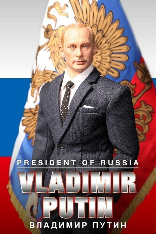 "DID 1 6 Vladimir Putin - President of Russia Владимир Путин 12"" Action Figure"