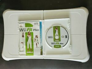 Genuine Nintendo Wii Fit Plus Balance Board And Game Tested Working