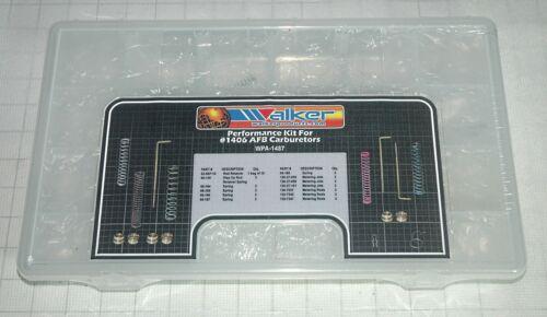 EDELBROCK 1406 600CFM CARBURETOR TUNING /& CALIBRATION KIT JETS RODS SPRINGS 34PC