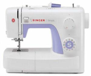 Macchina-da-cucire-meccanica-Singer-Simple-3232-con-Piedino-Increspatore