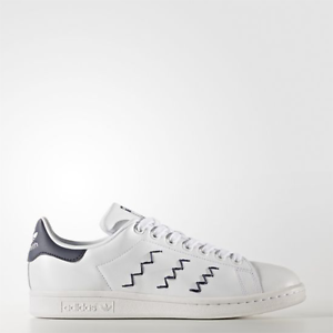 Image is loading New-Adidas-Original-Womens-Stan-Smith-Zig-Zag-