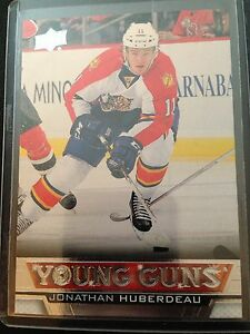 13-14-UD-Young-Guns-YG-Jonathan-Huberdeau-222-SP-RC-Florida-Panthers