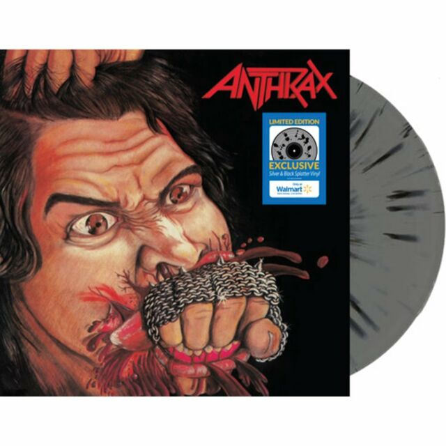 Anthrax - Fistful Of Metal Exclusive Limited Silver & Black Colored Vinyl LP