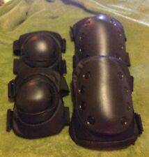Advanced Tactical Elbow And Knee Pads, Duty Gear, Black