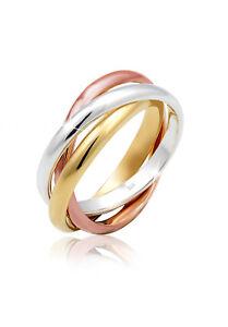 Wickelring-Trinity-925-Sterling-Silber-Unendlichkeit-Ewigkeit-Echt-Ring-Trend
