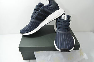 088832afb1b01 Adidas BB3124 NMD R1 Bedwin Shoes   Night Grey - Core Black - White ...