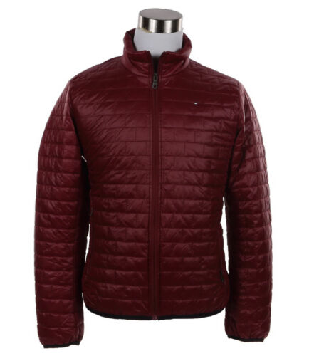 $0 Free Ship Tommy Hilfiger Men/'s Ultra Loft Insulated Packable Full Zip Jacket