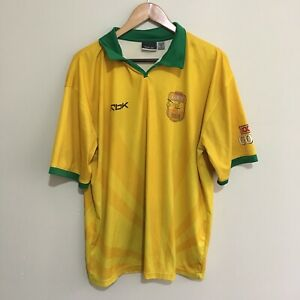 XXXX-Gold-Reebok-Australia-Beach-Cricket-Official-Polo-Shirt-Mens-XL