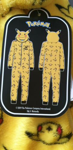 Neu mit Etikett Primark All in One Pyjama Kinder Schlafanzug Minecraft Pokemon