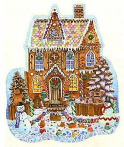 Details About Gingerbread House Shaped 1000 Piece Jigsaw Puzzle By Sunsout Christmas Theme