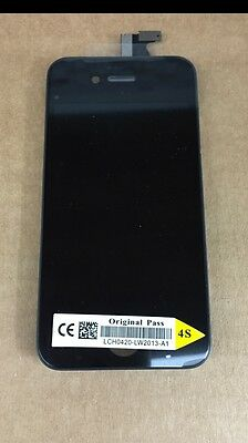 Genuine OEM Quality Lcd Touch Screen Replacement For Original iPhone 4s Black
