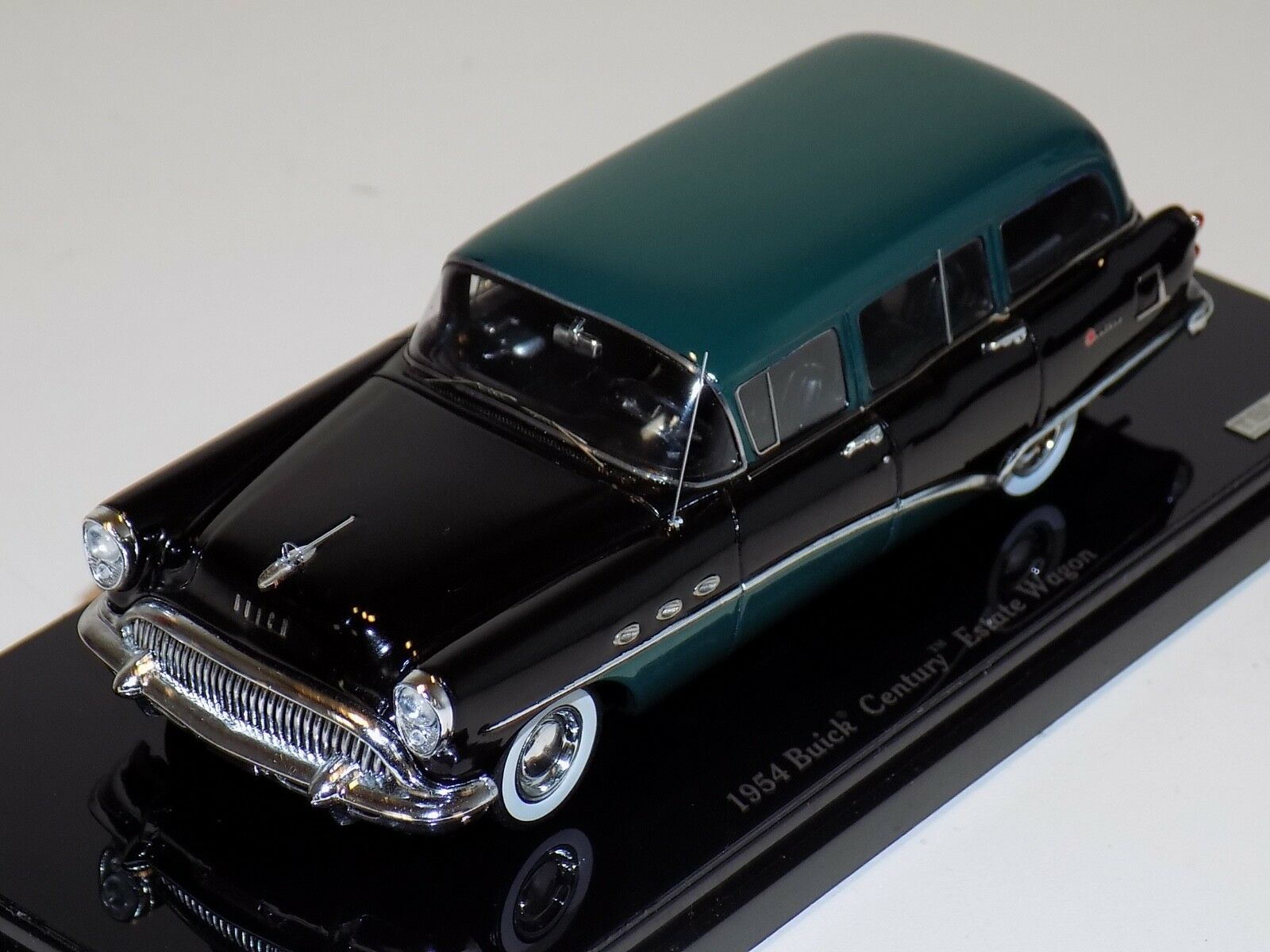 1 43 True Scale Models TSM Buick Century 1954 carro de raíces verde TSM144315