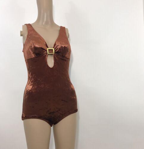 60s Velvet Bodysuit