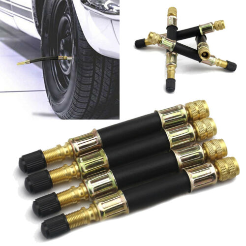4pcs//set Durable Dual Tire Valve Extension Stem Truck RV Trailer Wheel 105mm New