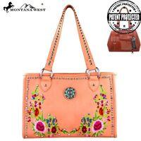 Montana West Concealed Handgun Collection Handbag Pink