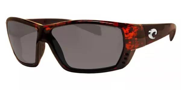 Costa Del Mar Tuna Alley Polarized Sunglasses - Tortoise/Gray 580P