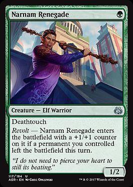 Aether Revolt Magic 2x Narnam-Renegat Narnam Renegade