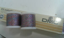 100m Carrete de DMC Arco Iris filamento rosca 4 Cruz puntadas, tarjetas, vestido haciendo