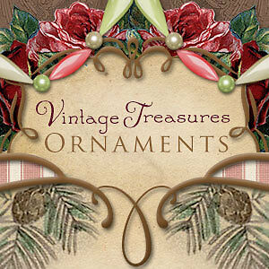 Vintage Treasures Ornaments