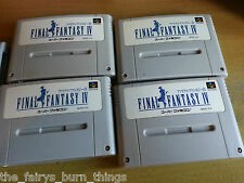 Final Fantasy IV 4 Super Nintendo SNES JAP NTSC Good Condition