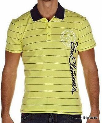 Maglia T-shirt Polo Zu+Elements Uomo Men short sleeves 100% Originale