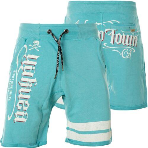 Yakuza Shorts scrap Town SWEAT ssb-14035 Maui Blue uomo blu chiaro