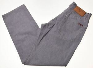 Marlboro-Classics-Herren-Jeans-w31-l31-grau-Baumwolle-Straight-h001