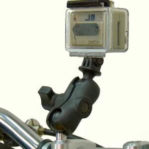 Ram-Moto-M8-Morsetto-Manubrio-Corti-Braccio-Fotocamera-Supporto-Per-GoPro-Hero