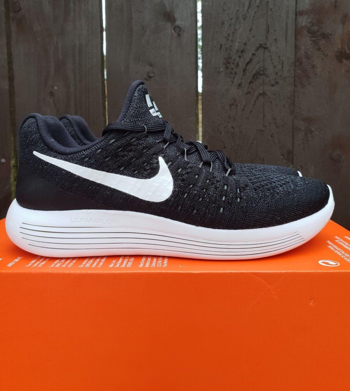 Femme Nike lunarepic faible fyknit 2 Noir Taille 4.5