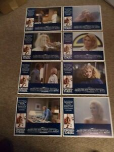 "DRESSED TO KILL(1980)ANGIE DICKINSON SET OF 8 ORIGINAL LOBBY CARDS 11""BY14"" MINT"