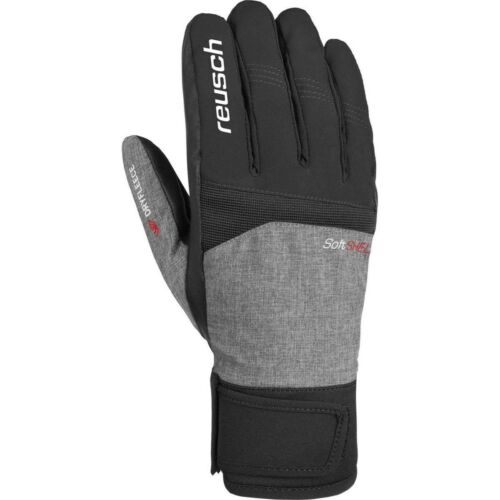 Reusch Ryan Meida Dry TOUCH-TEC Skihandschuhe schwarz grau
