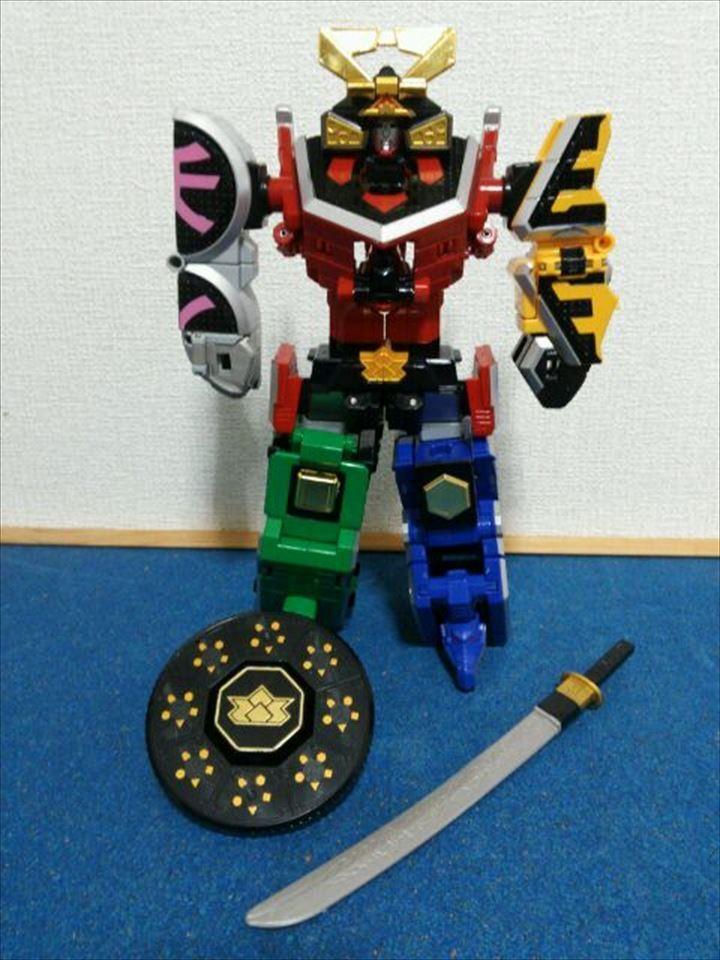 Power Rangers Samurai sentai DX SHINKEN-OH SHINKEN-OH SHINKEN-OH ORIGAMI  Megazord Figure Japan Bandai 08a189