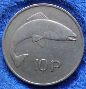 IRELAND-10-pence-1978-KM-23-Republic-Decimal-Coinage-1971-Edelweiss-Coins