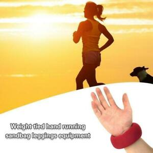 Adjustable Wristband Sandbag Ankle Wrist Leg Weights Aid Training Lift K9P9
