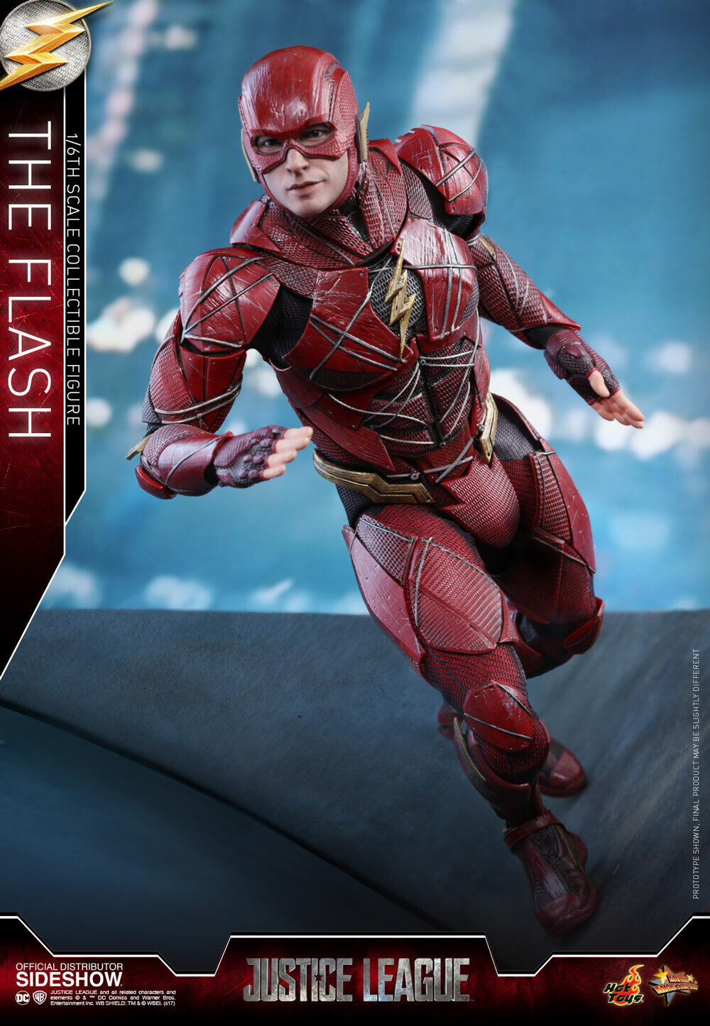 HOT TOYS The Flash Justice  League 1 6 Scale Figure MINT nouveau IN BOX  venez choisir votre propre style sportif