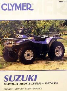 New suzuki atv lt4wdx lt300 300 king quad repair manual ebay image is loading new suzuki atv lt4wdx lt300 300 king quad fandeluxe Image collections